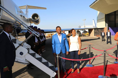 This South African Pastor Just Acquire His Third Private Jet PHOTOS  How A