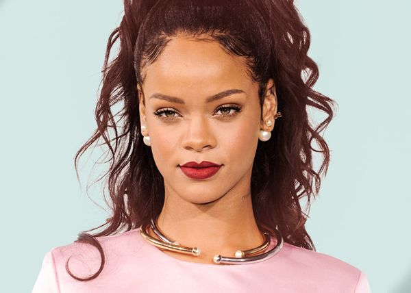 Rihanna's face shape is deemed the most perfect.
