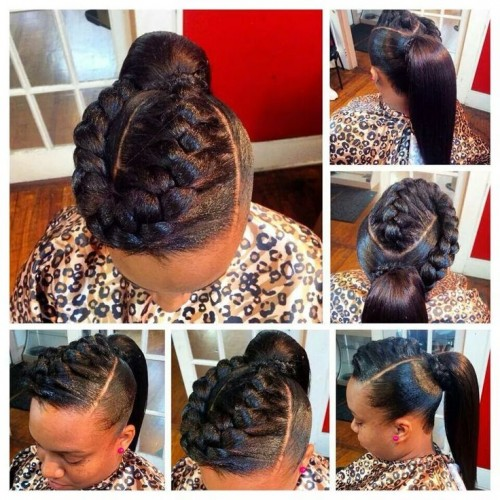 20 Sew-In Hairstyles For Black Women - How Africa