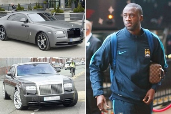 Ivorian Footballer Yaya Toure Adds Second Rolls Royce