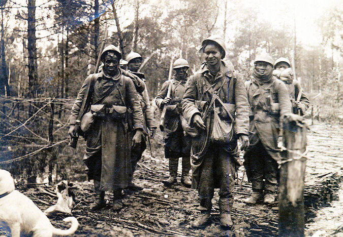 African americans in wwi dating french women
