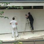 Homeless painter
