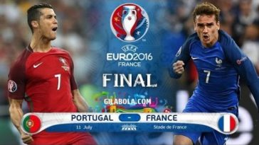 Euro 2016 France vs Portugal Credit:Youtube