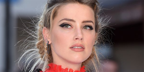 Amber Heard has the perfect nose.