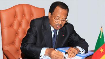PRESIDENT PAUL BIYA- CAMEROON