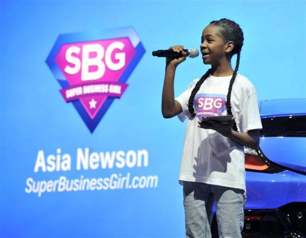 Black Entrepreneur, Asia Newson