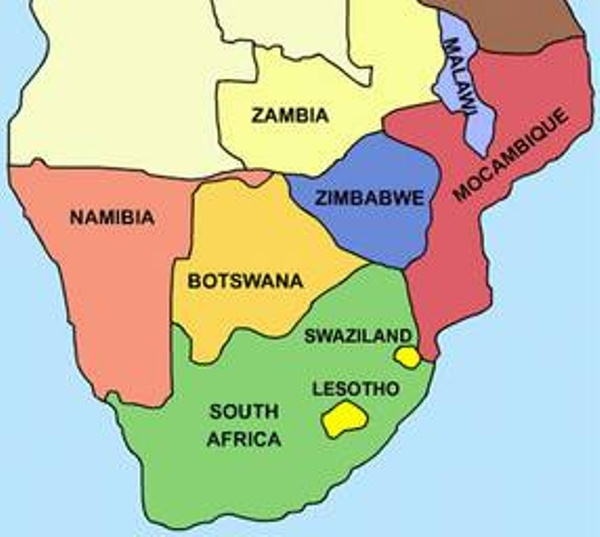 List Of Southern African Countries How Africa News - Africa map countries