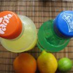 fanta,sprite with vitaminC