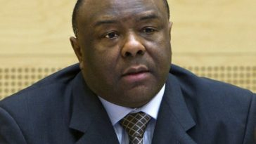 Jean-Pierre Bemba, Jean-Pierre Bemba Jailed, Jean-Pierre Bemba looking worried