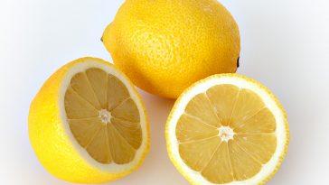 sliced and unsliced lemon