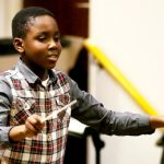 Matthew Smith , Youngest Conductor Of A 75-Piece Orchestra