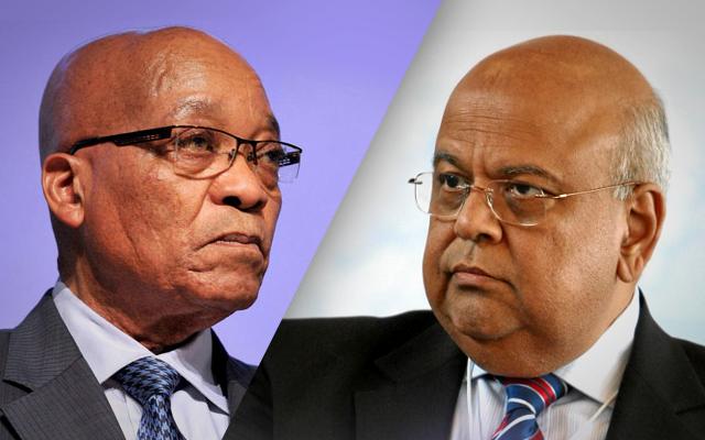 Jacob Zuma, Gordhan