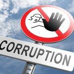 corruption sign