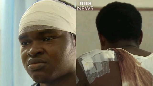 Mob Beat up Nigerian student