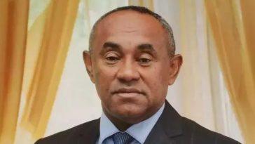 New CAF President ,Ahmad Ahmad