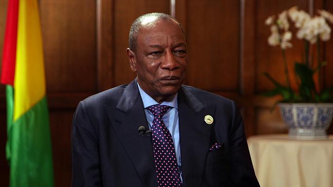 President Alpha Condé