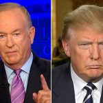 Bill O'Reilly and Donald Trump