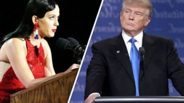 "American Singer, Katy Perry: ""Donald Trump's Election Is A Trauma""!!"