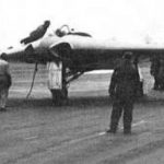 experimental German aircraft without tailplane