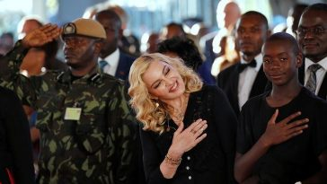 Madonna opens world-class children hospital in Malawi