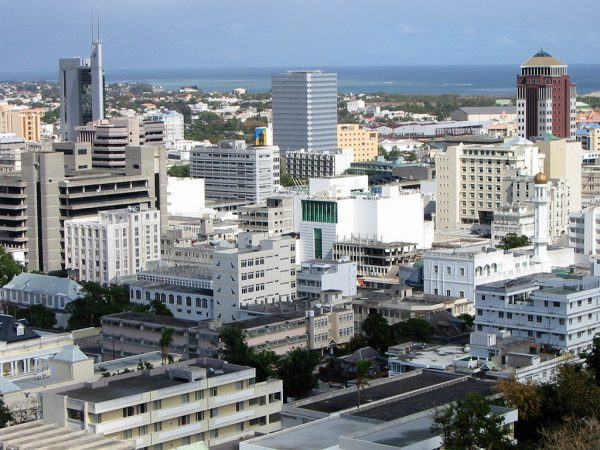 Port Louis in Mauritius