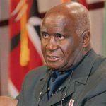 Former Zambian President Kenneth Kaunda,