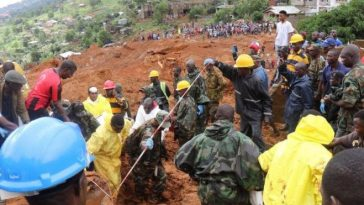 Nigeria Donates $1m, 315 Tonnes Of Relief Materials To Sierra Leone Flood & Mudslide Victims