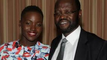 Kenya's Lupita Pens Heartfelt Message To Her Father After Swearing In