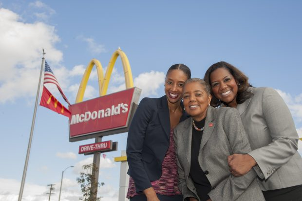 Kerri Harper-Howie, Patricia Williams, Nicole Enearu, Black Mother and Two Daughters Who Own 13 McDonald's Franchises