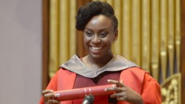 Nigerian Novelist Chimamanda Adichie Honoured With Honorary Degree At The University Of Edinburgh