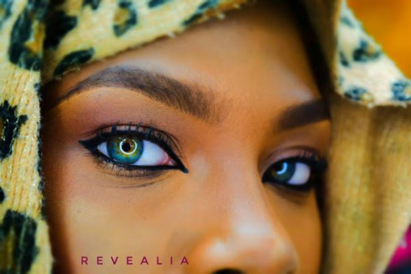 Meet Peace Samuel Omana, The Beautiful Nigerian Girl With Multicoloured Eyes