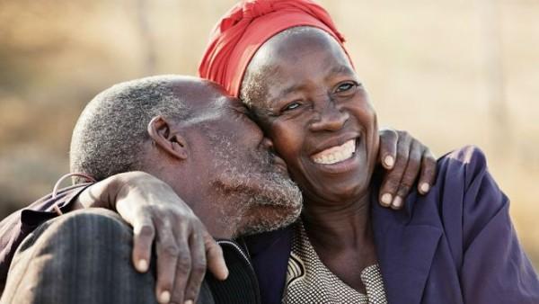 Elderly black people
