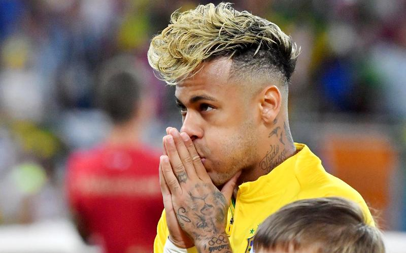 Mondial 2018 Mocked On Social Networks Neymar Forced To Change