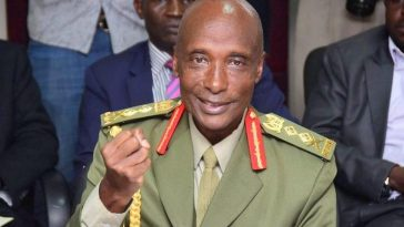 Army general Kale Kayihura