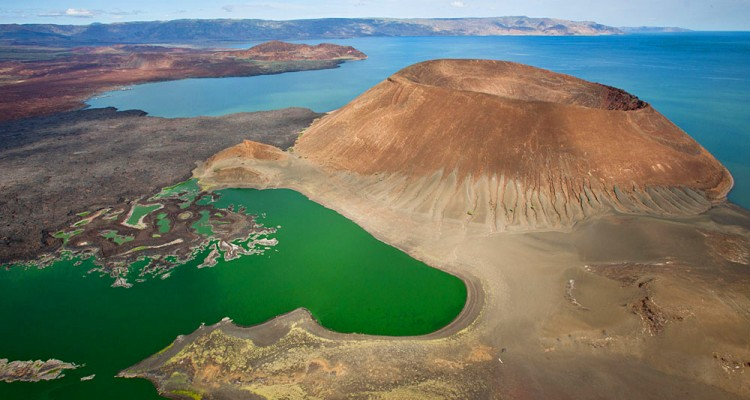 Lake Turkana, the world's largest desert lake