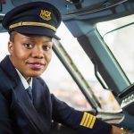 Admira-António, Mozambique Airlines' First Woman Pilot