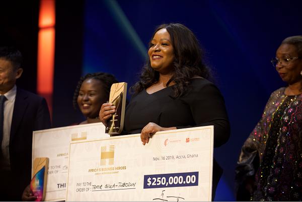 <b>Nigerian Woman, Temie Wins Top USD $250,000 African Netprenuer Prize</b>