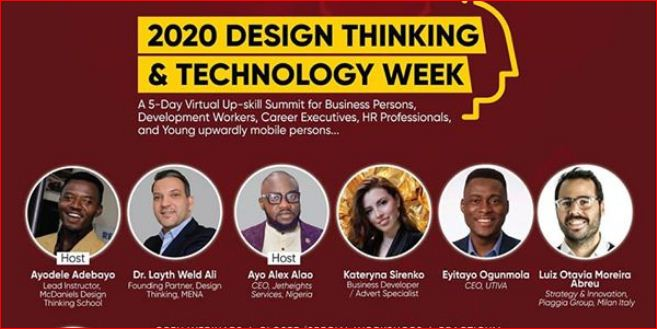 2020 Design Thinking And Technology Week