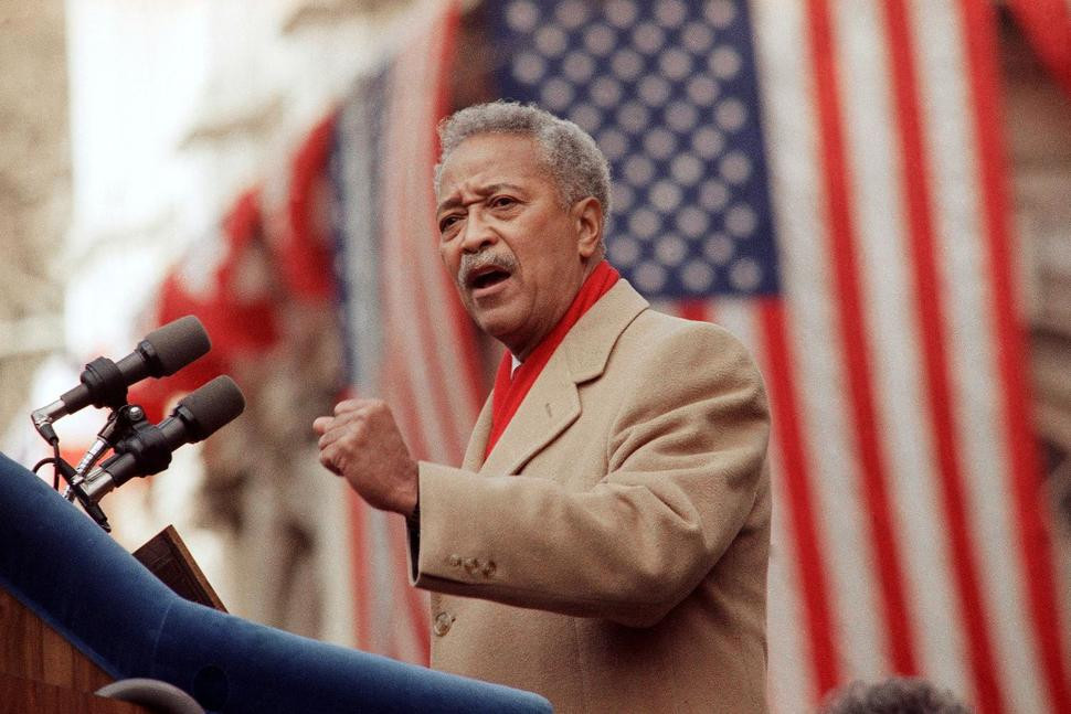 David Dinkins, New York City's first African American mayor, dies at 93