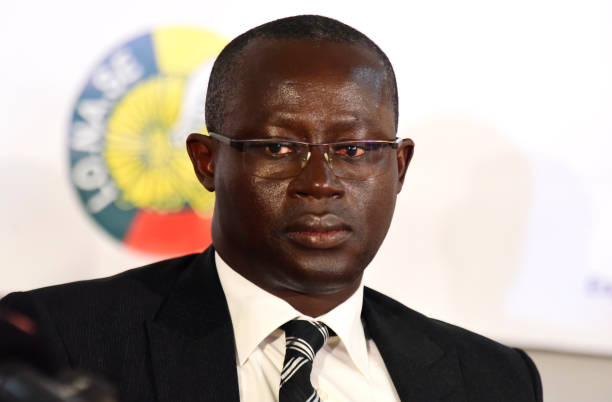Senghor Steps Aside From The CAF Presidential Race In Support Of South Africa's Motsepe
